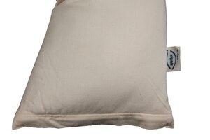 Reise-Schlafkissen mit Dinkelspelzen und Kautschuk - Speltex