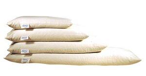 Schlaf und Entspannungskissen Bio-Hirse und Kautschuk  40 x 80 cm - Speltex
