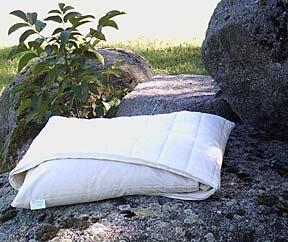 Ergonomisches Schlafkissen mit Bio-Hirseschalen und Kautschuk - Speltex