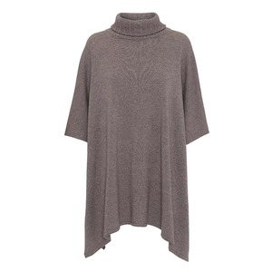 Poncho Vanessa aus 80% Wolle/20% Kaschmir - CARE BY ME