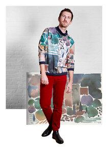 Unisex Pullover Jesse - Sweatshirt aus Bio-Baumwolle - Sophia Schneider-Esleben