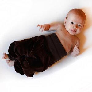 Nickihose für Babys dunkelbraun - Cmig