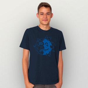 """""""Sei optimistisch"""" Männer T-Shirt  - HANDGEDRUCKT"""