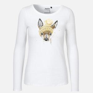 Winter is beautiful - Langarm Shirt - Neutral