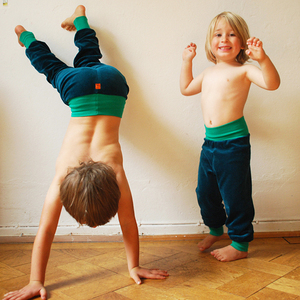 Nickihose für Kinder petrol/smaragdgrün - Cmig
