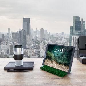 iPad Tablet Halter aus recycelten Glasflaschen - MAGNA Glaskeramik®