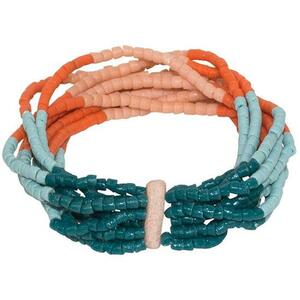 Upcycling Armbänder Afrika - Namib Multi & Azonto Melon - Glasperlen - Global Mamas - Global Mamas