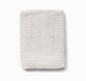 Handtuch Check aus Bio-Baumwolle 70 x 140 cm - Juna