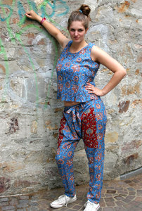 Wrap Hose TRUE BLUE FLOWER - BAGHI