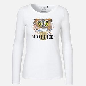 Coffee Please - Long Sleeve Shirt - Neutral