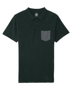"Herren Polo-Shirt aus Bio-Baumwolle ""Seth Pocket"" - University of Soul"