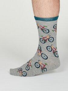 Herren Bambussocken Bicycle Wesley - Thought