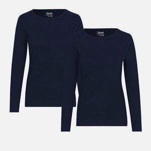 Doppelpack Long Sleeve Shirt - Bio-Baumwolle - Neutral