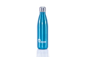 Edelstahlflasche 500ml Blau - Made Sustained
