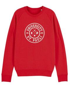 "Herren Sweatshirt aus Bio-Baumwolle ""University of St. Pauli"" - University of Soul"
