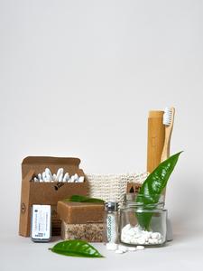 Plastikfreies Badezimmer Geschenkset XL - Slow Supply