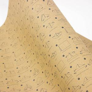 Geschenkpapier Papierschiffchen - Bow & Hummingbird