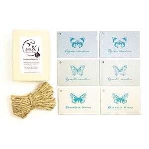 Geschenkanhänger Schmetterlinge der Welt - Bow & Hummingbird