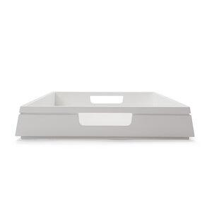 Holztablett NH-K Auswahl Buchen-Holz, Nussbaum-Holz, Weiß matt lackiert - NATUREHOME