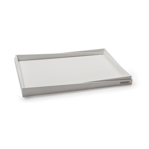 Holztablett NH-R Buchen-Holz Weiß seidenmatt lackiert in 3 versch. Größen - NATUREHOME