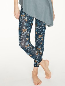 Damen Bambusleggings Printed Atkins - Thought