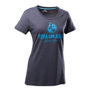 Viva con Agua Shirt Logo Ladies - VIVA CON AGUA