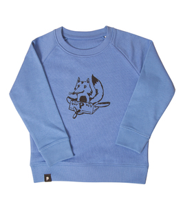Freddy Fox - Fair Wear Kinder Sweater - Blau - päfjes