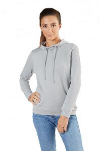Damen Piquéstoff Hoodie Bio-Baumwolle Sweatshirt 1275 - Albero
