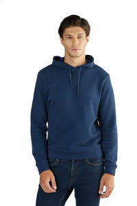 Herren Piquéstoff Hoodie Bio-Baumwolle Sweatshirt 2256 - Albero
