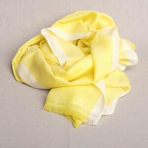 "Schal handgewebt 100 % Wolle ""Contrasting Stripe"" in Nepal - Maheela"