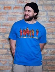 Jumping Africans T-Shirt - EarthPositive