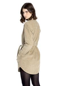 Hanf Overshirt aus Cord- Savina - MÁ Hemp Wear