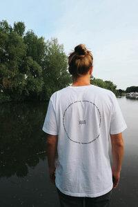 RÜCKENWIND - T-Shirt aus 100% Bio-Baumwolle (GOTS) von SALZWASSER - SALZWASSER