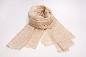 HH Kaschmir-Schal aus recycelter Ziegenwolle (Cashmere) - Himal Hemp
