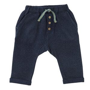Baby u. Kinder Sweat Jogginghose blau biologisch - People Wear Organic