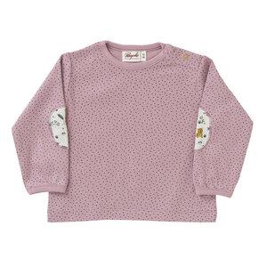 Mädchen Langarmshirt rosa Bio People Wear Organic - People Wear Organic