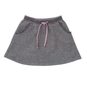 Mädchen Sweatrock grau 100% kbA Baumwolle People Wear Organic - People Wear Organic