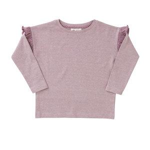 Mädchen Langarmshirt rosa biologisch People Wear Organic - People Wear Organic