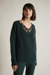 Pullover GOTS aus Bio-Schurwolle und Bio-Baumwolle - LANIUS