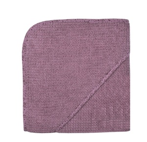 Baby und Kinder Kapuzenbadetuch At Home  100 % Bio Baumwolle tolle Farben - Wörner
