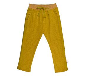 Hose stripe pant senfgelb - Baba Babywear