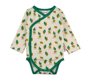 Langarmwickelbody Bären - Baba Babywear