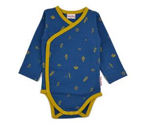 Langarmwickelbody Weltall - Baba Babywear