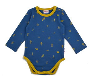 Langarmbody Weltall - Baba Babywear