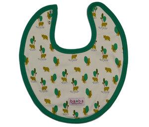 Lätzchen aus Biobaumwolle mit Druckknopf - Baba Babywear