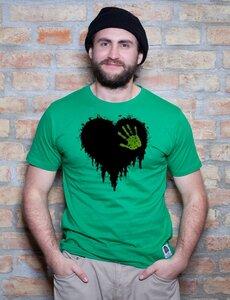 Black Heart T-Shirt - EarthPositive