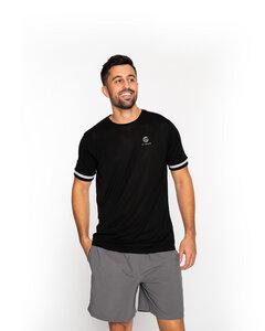 """Sport T-Shirt aus TENCEL - Lyocell in schwarz """"Attitude"""" - VIDAR Sport"""