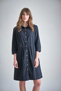 Della Denim Shirt Dress - bibico