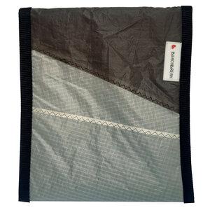 UNIKAT Tablet-Tasche Tablethülle upcycled aus Kitesegel / Segeltuch  bis 10 Zoll - Beachbreak