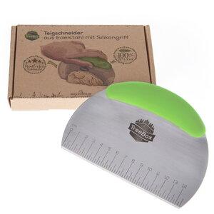TreeBox Teigschneider aus Silikon und Edelstahl – Der Teigschaber ohne Plastik - TreeBox